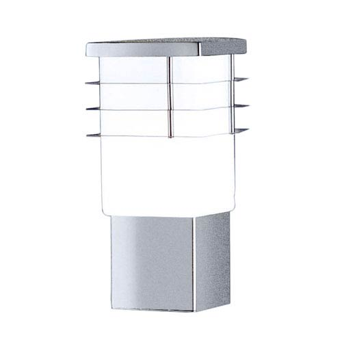 Eglo Calgary Stainless Steel One Light Outdoor Wall Sconce