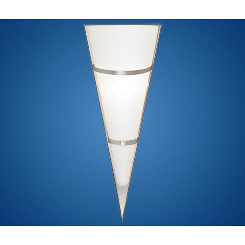 Pascal 1 Matte Nickel One-Light Sconce