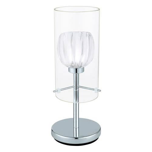 Ricabo Chrome One Light Table Lamp