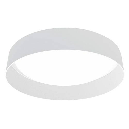 Palomaro LED 13-Inch White One-Light Flushmount