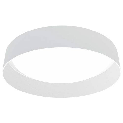 Palomaro LED 20-Inch White One-Light Flushmount