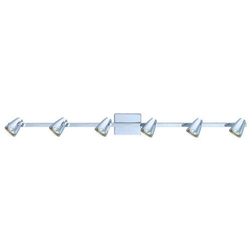Corbera Chrome 46-Inch Six-Light Track Light