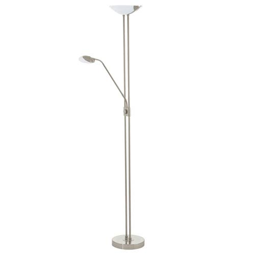 Baya 1 Matte Nickel 71-Inch Three-Light LED Floor Lamp