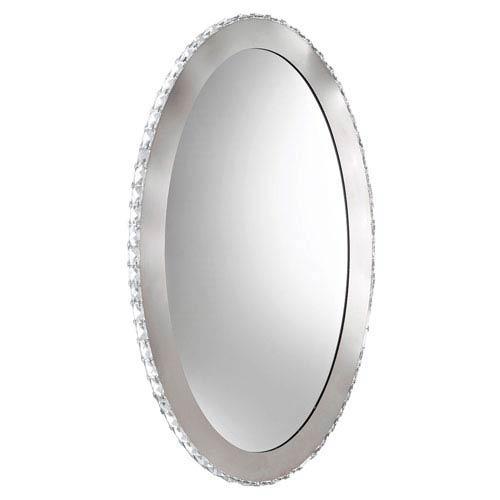 Toneria LED 20-Inch Chrome Nine-Light Mirror