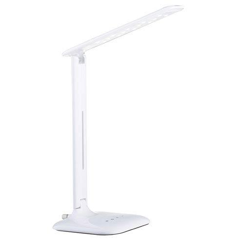Caupo LED White One-Light Desk Lamp