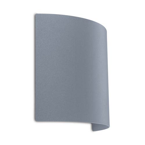Corfino LED Silver Four-Light Outdoor Wall Sconce