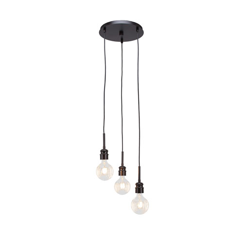 Toltec Lighting Edge Espresso 15-Inch LED Mini Pendant
