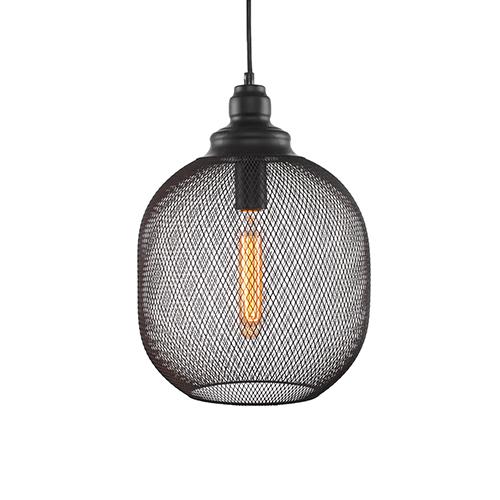 Plexus Matte Black 11-Inch One-Light Pendant