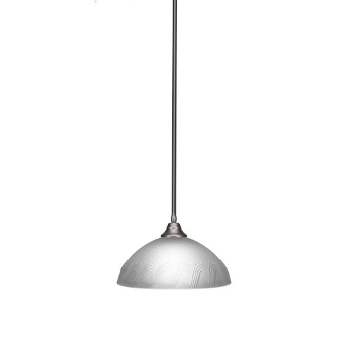 Any Brushed Nickel 16-Inch One-Light Pendant