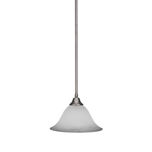 Any Brushed Nickel 14-Inch One-Light Pendant