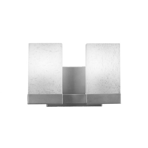 Nouvelle Graphite 11-Inch Two-Light Bath Vanity