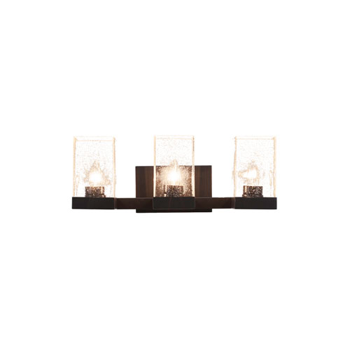 Nouvelle Espresso 20-Inch Three-Light Bath Vanity