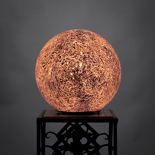 Fusion Gold  Eight-Inch One-Light Table Lamp