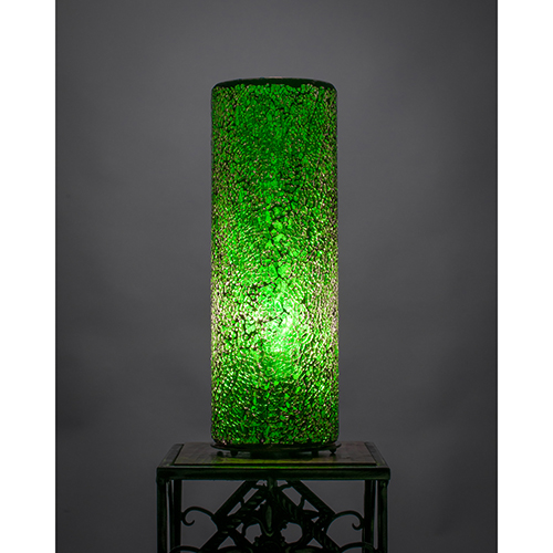 Fusion Green  Four-Inch One-Light Table Lamp