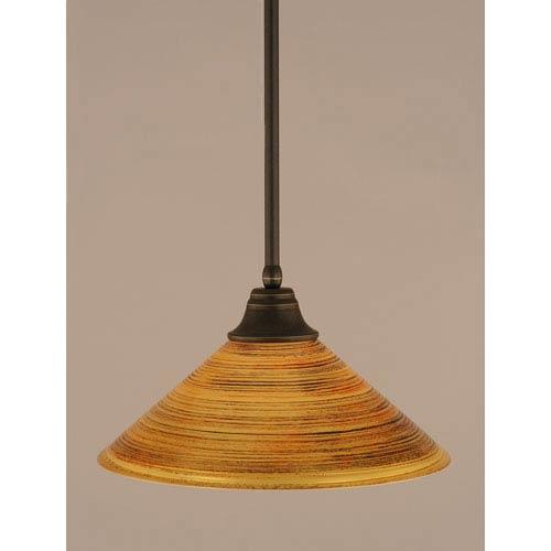 Orange pendant lighting bellacor dark granite stem pendant with firrt saturn glass shade aloadofball Gallery