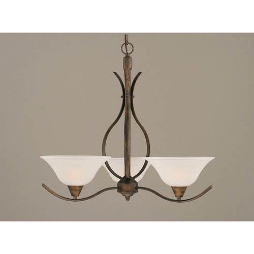 glass drop light fixture toltec lighting swoop bronze threelight chandelier with 10inch dew drop glass shade light fixture bellacor