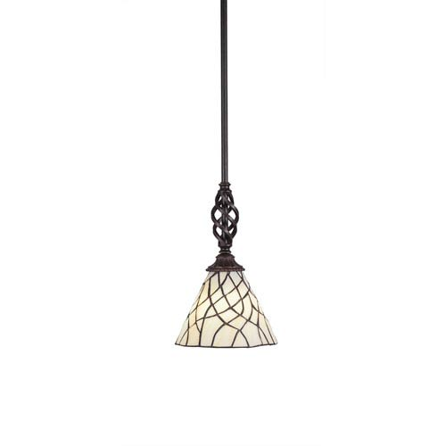 Tiffany mini pendant lighting tiffany style mini pendant lights elegant dark granite one light mini pendant with sandhill tiffany glass aloadofball Images