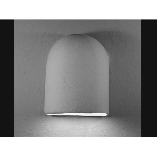 CDS Lighting Studio Unfinished Bisque Hood Dome Top Wall Sconce