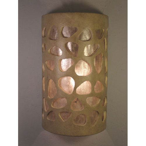 Parchment One-Light 17-Inch Tall Outdoor Wall Sconce