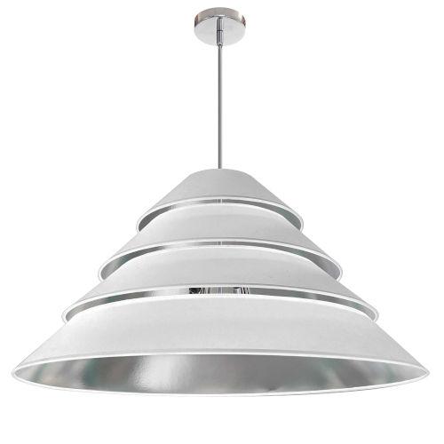 Aranza White Silver Four-Light Pendant