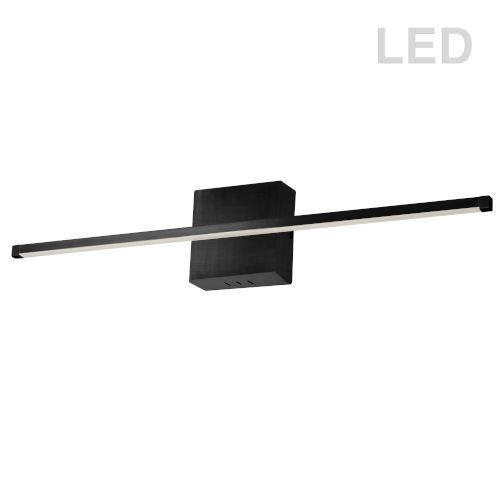 Array Matte Black 36-Inch Horizontal LED Wall Sconce