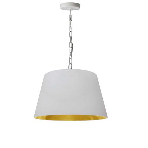 Brynn White Gold 14-Inch One-Light Pendant