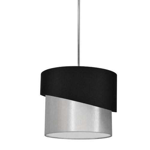 Jazlynn Black Gray One-Light Pendant