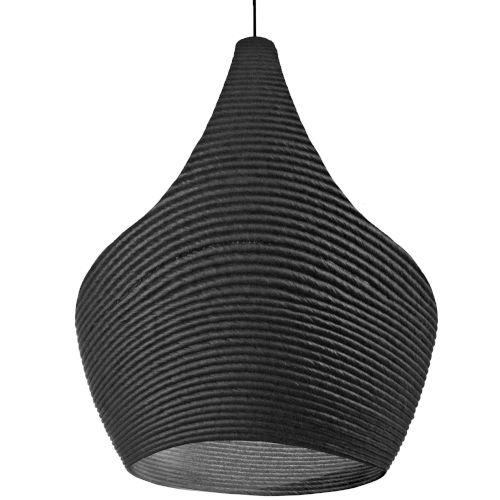 Mashe Black 15-Inch One-Light Pendant