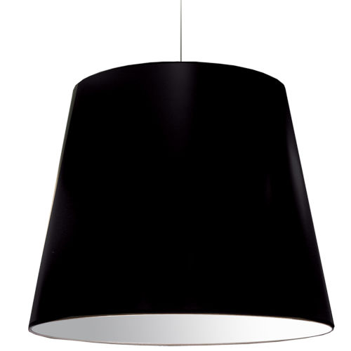 Black Silver 32-Inch One-Light Pendant