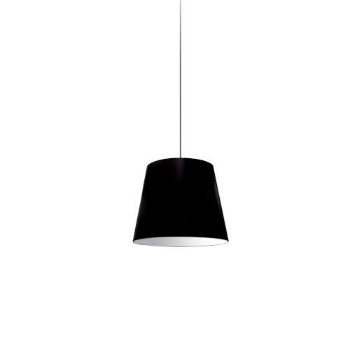 Black 10-Inch One-Light Pendant
