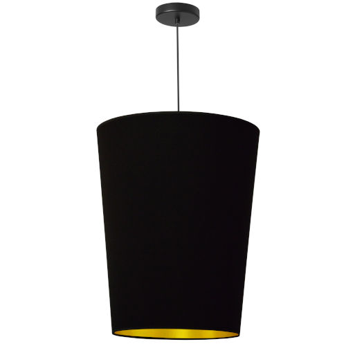 Paisley Black Gold 16-Inch One-Light Pendant