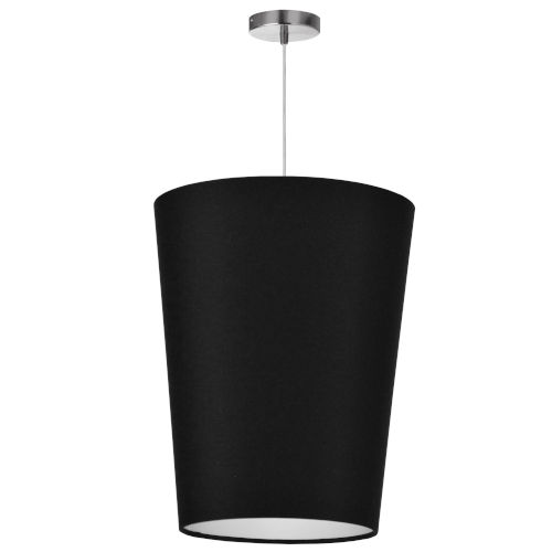 Paisley Black 16-Inch One-Light Pendant