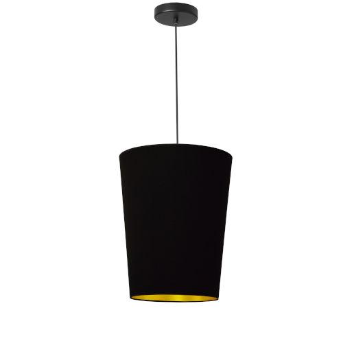 Paisley Black Gold 11-Inch One-Light Pendant