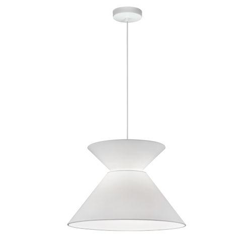 Patricia White One-Light Pendant