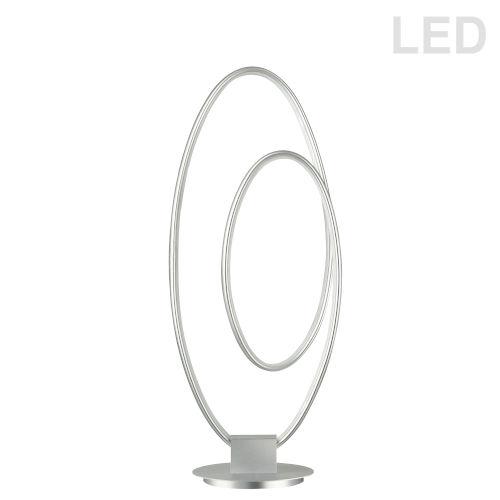 Phoenix Silver LED Table Lamp