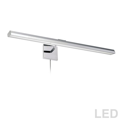 Leonardo Polished Chrome Four-Light LED Picture Light