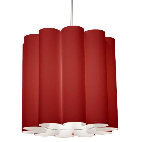Sandra Red 19-Inch One-Light Pendant
