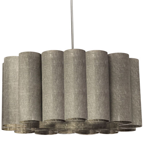 Sandra Milano Gray 24-Inch Four-Light Pendant