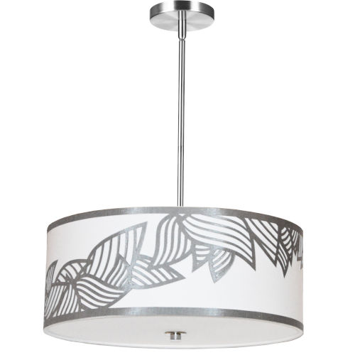 Sophia Silver 19-Inch Four-Light Pendant