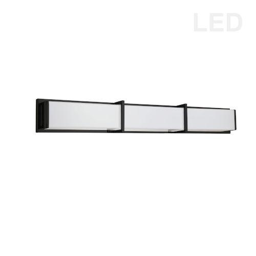 Winston Matte Black 40-Inch LED Bath Bar