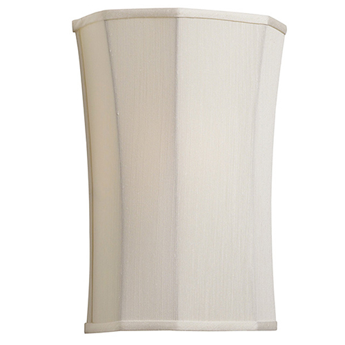 Ivory 8-Inch One-Light Sconce