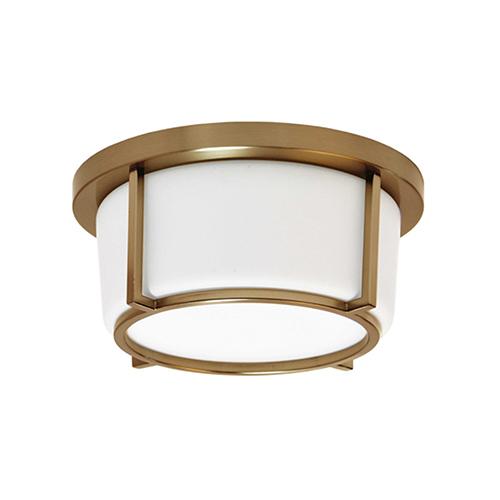 Vintage Bronze 10-Inch LED Flush Mount