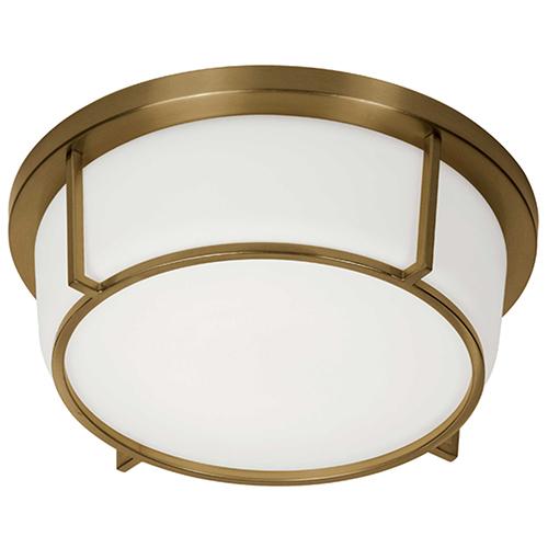 Vintage Bronze 13-Inch LED Flush Mount