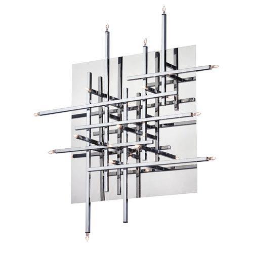 Dainolite Mondrian Sixteen Light Flush Mount Fixture