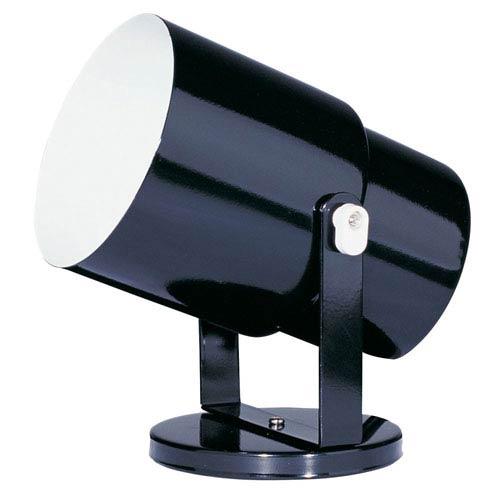 Dainolite Utility Gloss Black Wall Spot or Floor Pod
