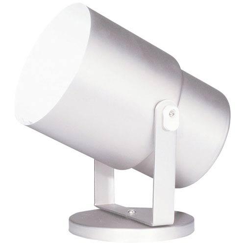 Dainolite Utility Gloss White Wall Spot or Floor Pod