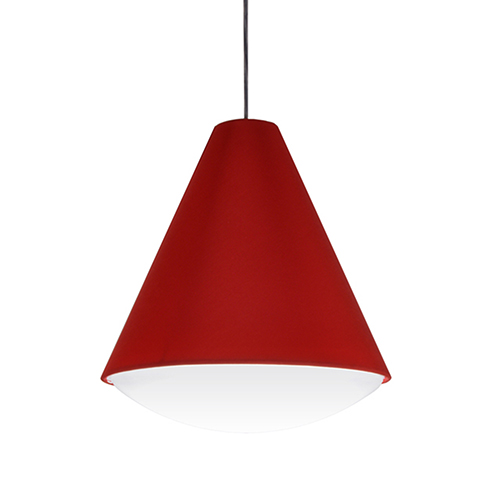 Dainolite Pendants Red 13-Inch LED Pendant