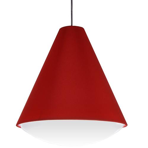 Dainolite Pendants Red 17-Inch LED Pendant
