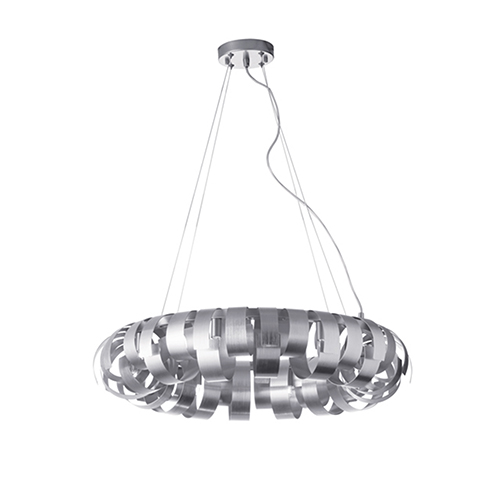 Harmony Silver 23-Inch Six-Light Pendant