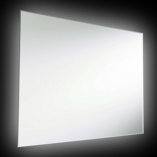 Dainolite Silver 26-Inch LED Vanity Mirror
